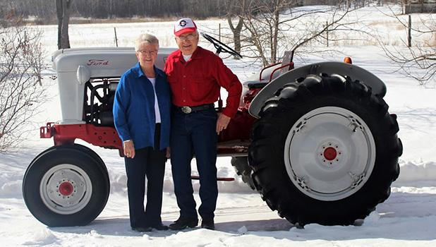 Lorraine and Rodney Rhen are the 2018 Button Honorees for the Lake Itasca Region Pioneer Farmers show that will be held August 17, 18 and 19th. The show is located adjacent to Itasca State Park at the north entrance.