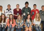 Red Lake County Rebels Track and Field Team honored its athletes with recognition on June 2nd in Red Lake Falls.