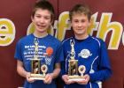 Ben Gullingsrud and Ethan Johnson will go on to the Knights of Columbus State competition on March 28th.