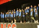 This is the graduating class of Red Lake County Central. On May 25, 2018, the 25 students stood to receive their diplomas.