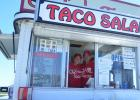 Hardworking and dedicated owners of Oof-da Tacos, Donna and Greg Parenteau.