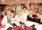 Attending the RSVP Banquet from Oklee on August 2nd were Vi Cote, Bev Linder, Einar & Carol Kvasager, and Irene Rosten.