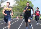 Sam Lavin will be advancing to the State in the 100 Meter Dash and the 400 Meter Dash.  Sam Ternes advanced to state in the 200 Meter Dash.  Both athletes will be competing this Friday and Saturday at the State Meet at Hamline.