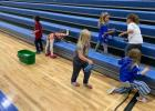 Young Grygla students were busy cleaning the bleachers and helping get the gym all ready for Graduation as part of the Charger Kindness Day. Photos courtesy of Grygla School