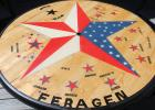 Chubby Feragen will have this table on display at this Saturday's Freedom Fest in Goodridge. Make sure to check it out. Read the history on it here. Photos by Grygla Eagle Newspaper