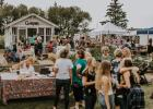 The annual Secret Garden Market is held on the Jason and Allison Kangas farm 9 miles north of Goodridge on Highway 219. Handmade items, home goods, clothing and jewelry vendors will be set up all around the garden on Thursday, August 22nd, along with live music, food and drinks. The event takes place from 5-9pm. Photo courtesy of Allison Kangas