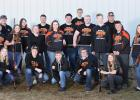 2019 team members are, front row, L-R: Katelyn Larson, Nolan Anderson, Lewis Jones, Levi Kiesow and Chelsie Nelson. Middle row, L-R: Jared Haack, Jamie Dougherty, Layla Jelle, Cheyenne Irlbeck, Jake Ahlbeck, Lucian Tinnes, Payton Grandstrand, Tucker Verbout and Gracie Lunsetter. Back row, L-R: Josh Johnson, Abby Kiesow, Peyton Verbout, Team Captain Jaden Kiesow and Head Coach Kenny Lunsetter. Not pictured: Eli Sundberg and Levi Sparby. Photo courtesy of Donna Thoele